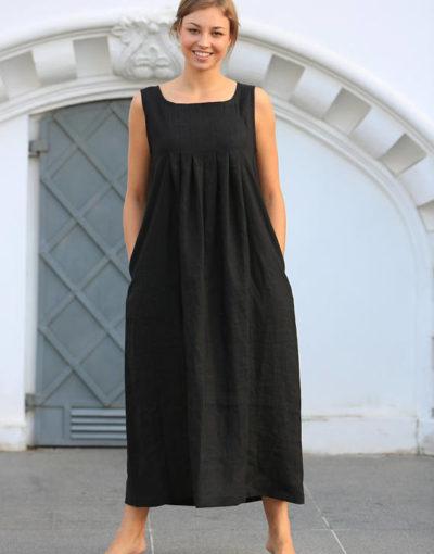 rochie-de-in-maxi neagra