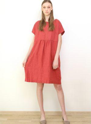 rochie coral 1